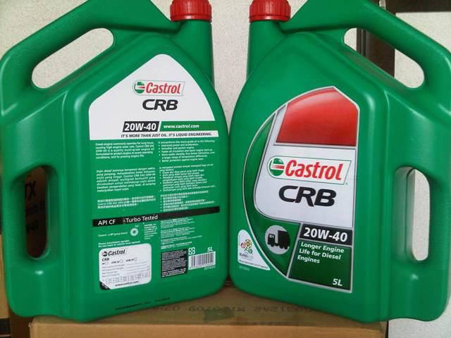 Castrol Crb 20w40 Cf 3x5l