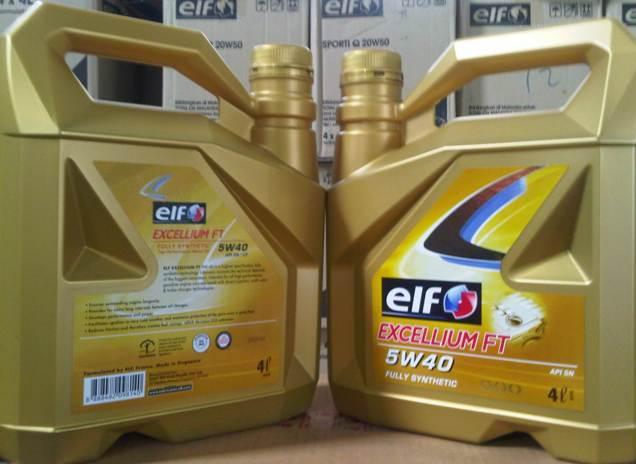 automotive lubricants elf excellium ft 5w40 4x4l. Black Bedroom Furniture Sets. Home Design Ideas