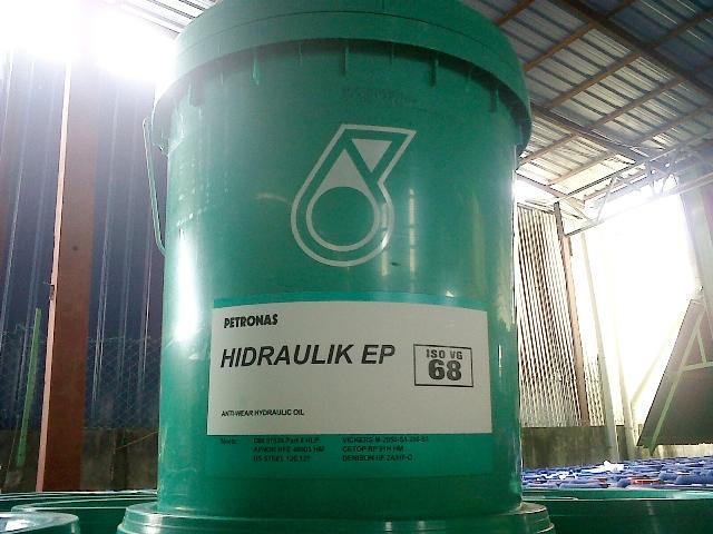 Hydraulic Oils : PETRONAS HYDRAULIC EP 68 (18L)